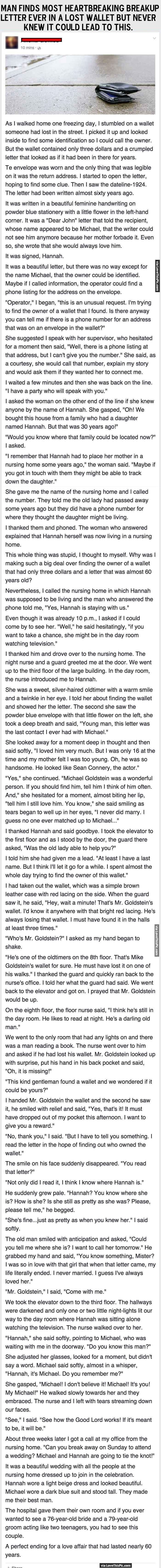 Man Finds Most Heartbreaking Breakup Letter Ever In A Lost