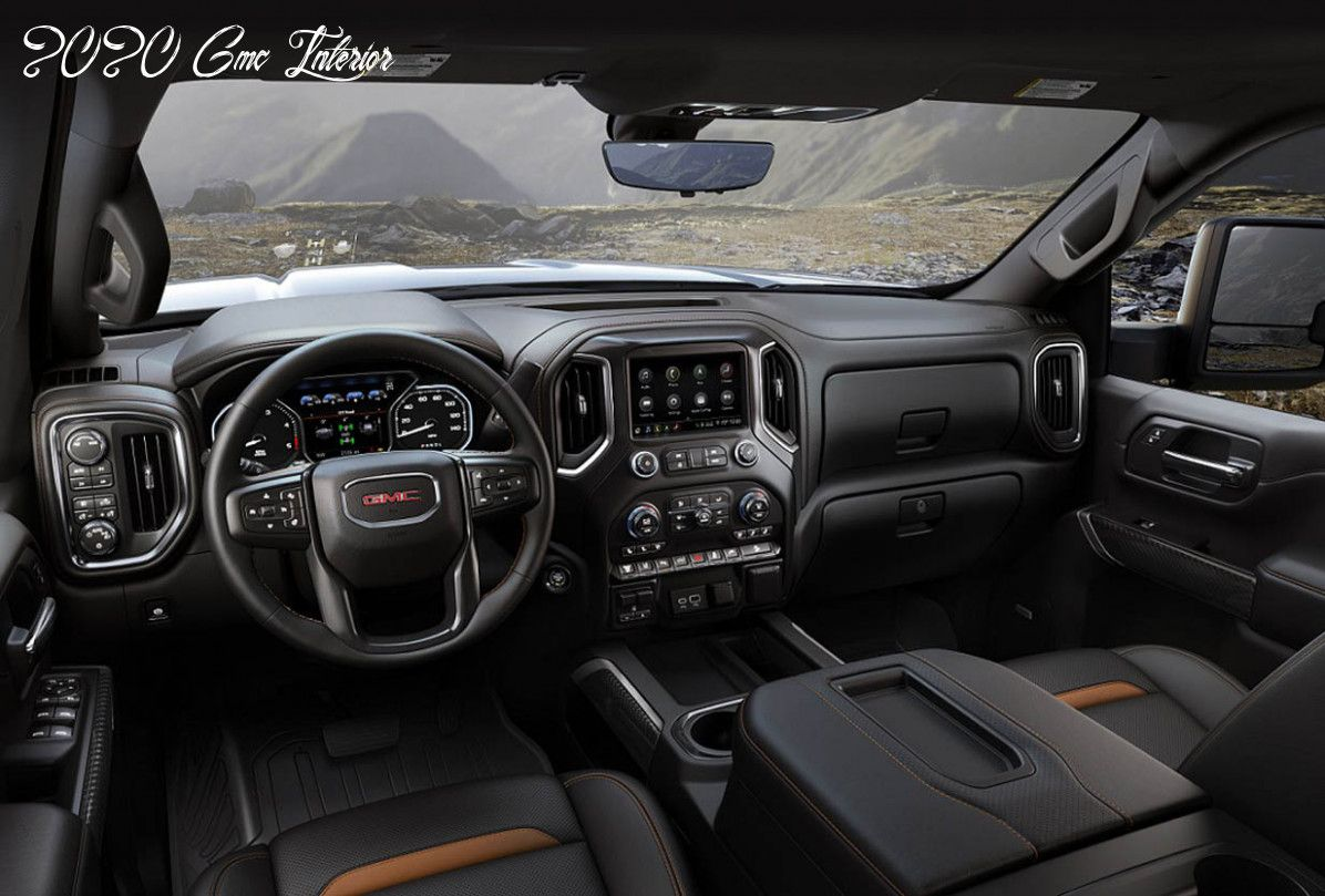 2020 Gmc Interior Model In 2020 Gmc Sierra Gmc Gmc Terrain