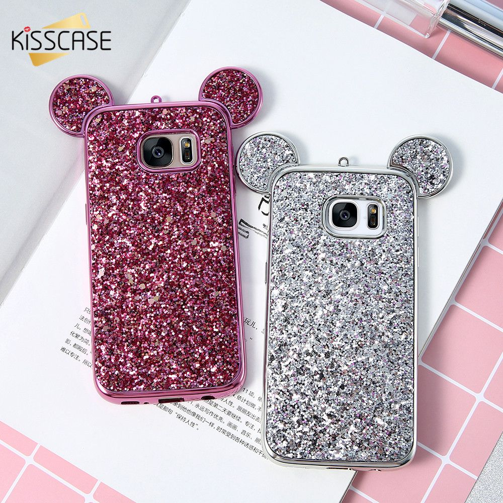 Ultrathin Iphoria Shining Case Xioami Redmi 4 Prime Silver Kisscase Mickey Mouse Ears For Samsung Galaxy S8 Plus S7 S6 Edge Luxury Glitter Sequins Slim Soft Tpu Price 995 Free