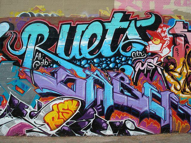 Graffiti in Los Angeles. #graffiti #typography