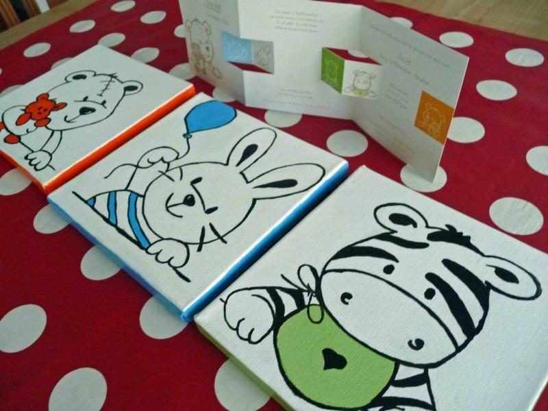 schilderen-geboorteschilderij-opmaatwebshop - schilderijtjes, Deco ideeën
