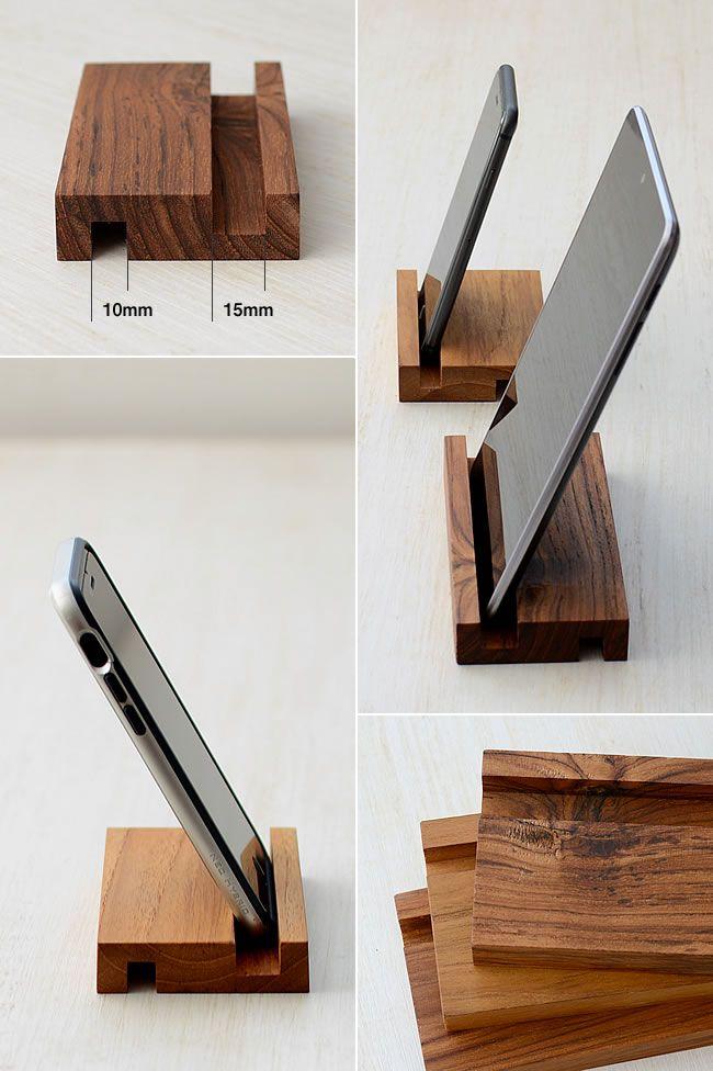 Wood タブレットスタンド