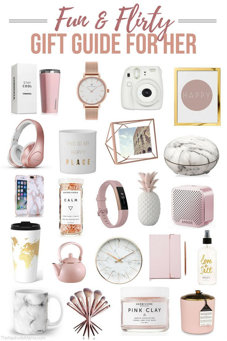 Fun & Flirty Gift Guide for Her #giftsforsister