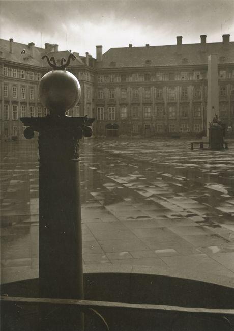 Josef Sudek - Third Courtyard of Prague Castle