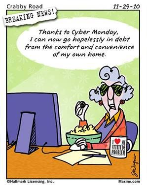 Gotta love Maxine! | Senior Jokes | Monday humor, Monday ...