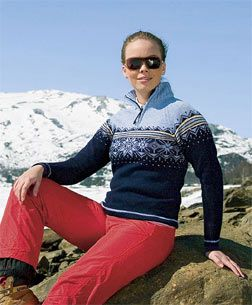 Dale of Norway sweaters are what I think all winter sweaters should look like.