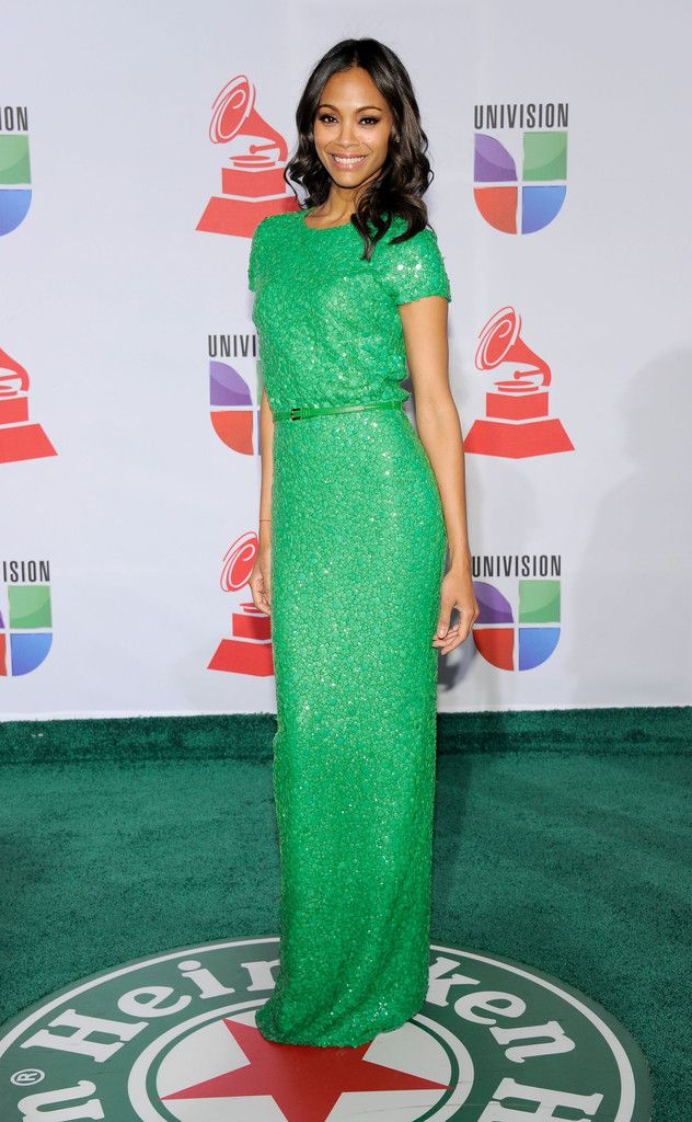Hollywood Actress Zoe Saldana