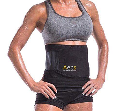 44c4d7d843 Waist Trimmer by Aecs F1 Premium Neoprene Weight Loss Ab Belt for Women and  Men Workout