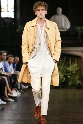 Nathan Mitchell for Billy Reid. New York Fashion Week Spring/Summer 2015.