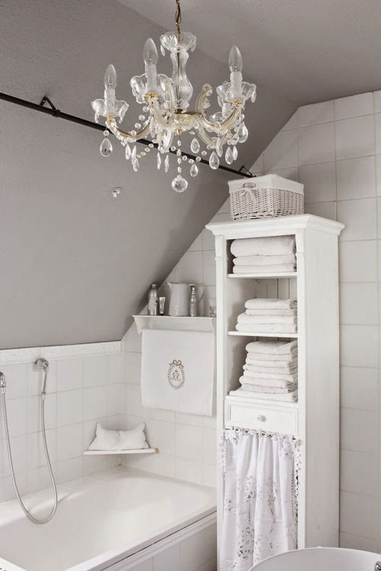 Bagni economici in stile shabby chic n.15 | My French Country House ...
