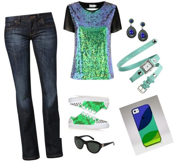 """""""Metallic!!!"""" by sabstyles-264 on Polyvore"""