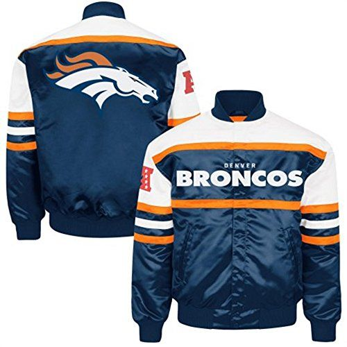 9d23ec93c Mens Denver Broncos Era Satin Jacket by GIII (XXX-LARGE) G-III Sports