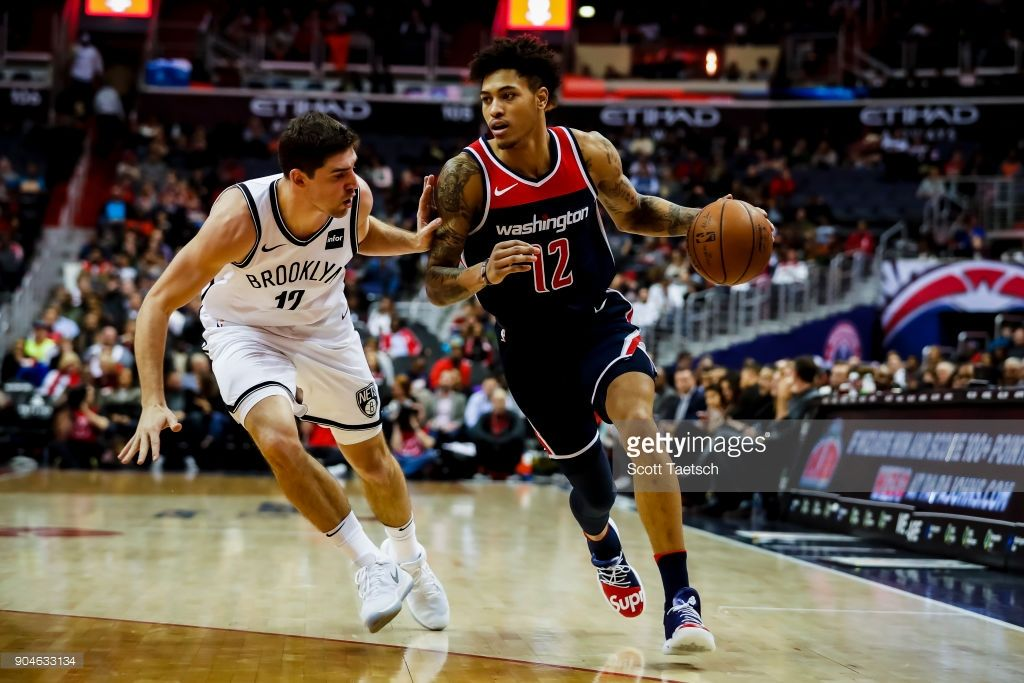 reputable site af814 b687b News Photo : Kelly Oubre Jr. #12 of the Washington Wizards ...