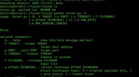 fuzzy is A network service fuzzer that supports also binary