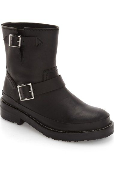 1ea09e6f844a Main Image - Hunter Original Biker Water Resistant Boot (Women ...