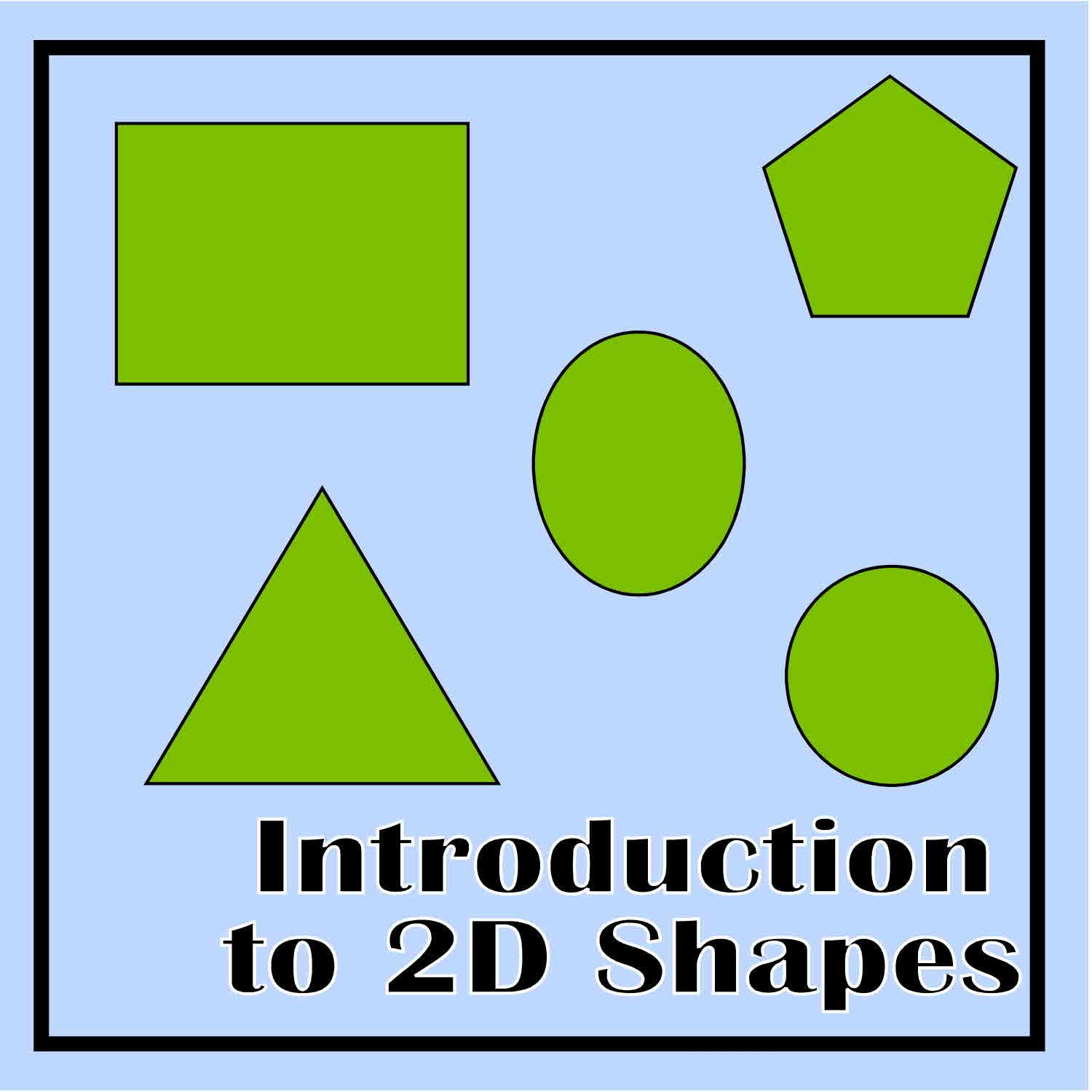 Introduction to 2D Shapes | Geometry activities, Printable shapes and 2d