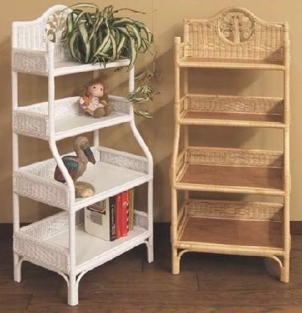 Wicker Storage Shelves Pletenaya Mebel Mebel Uyutnyj Dom