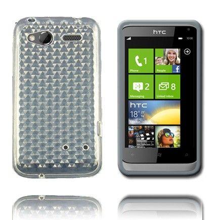 Kuutiot (Kirkas) HTC Radar Silikonisuojus