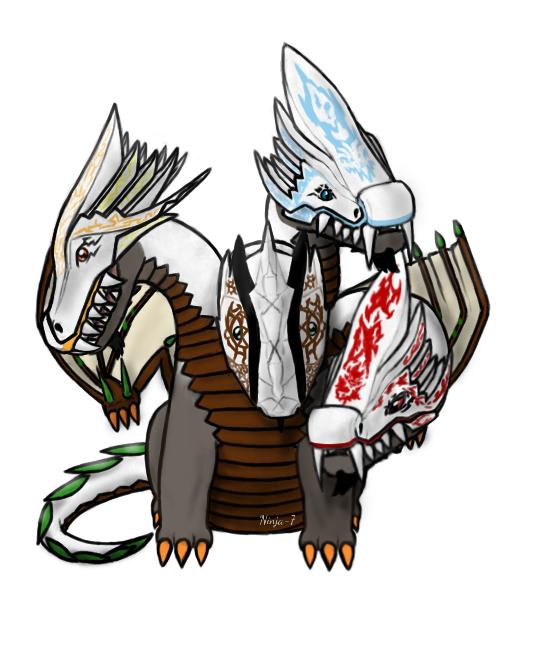 Ultra Dragon Art By Ninja 7 Ninjago Ninjagofanart Ninjago My