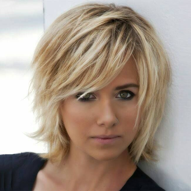 Nice And Cute Choppy Bob Haircut Hairstyles For Short Hair