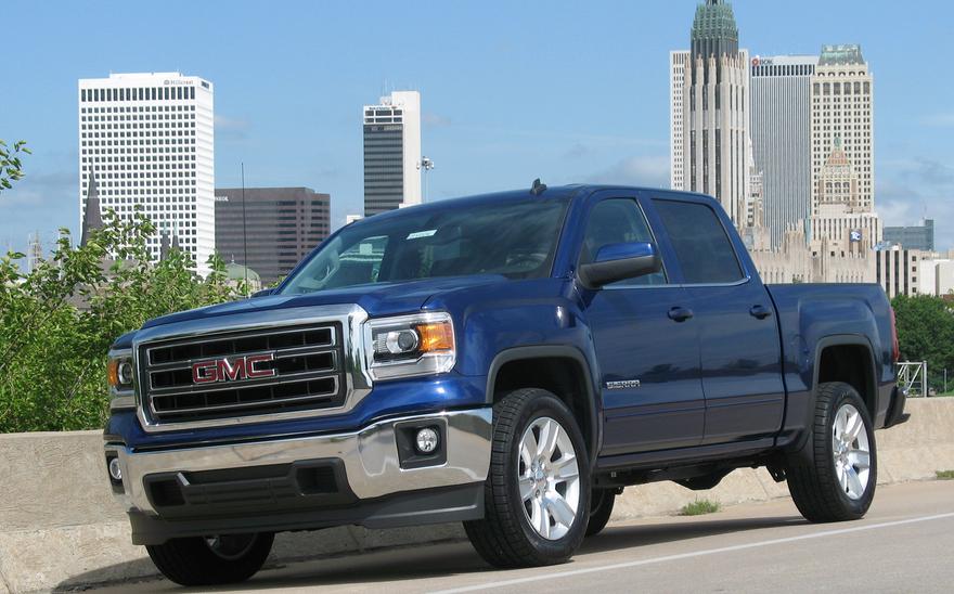 Cobalt Blue 2014 Gmc Sierra Tulsa Skyline Car Dealership