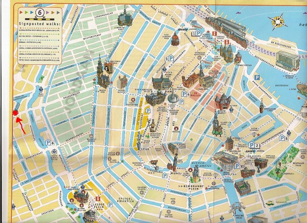 EUROPE MAPS – Vienna Tourist Map Printable