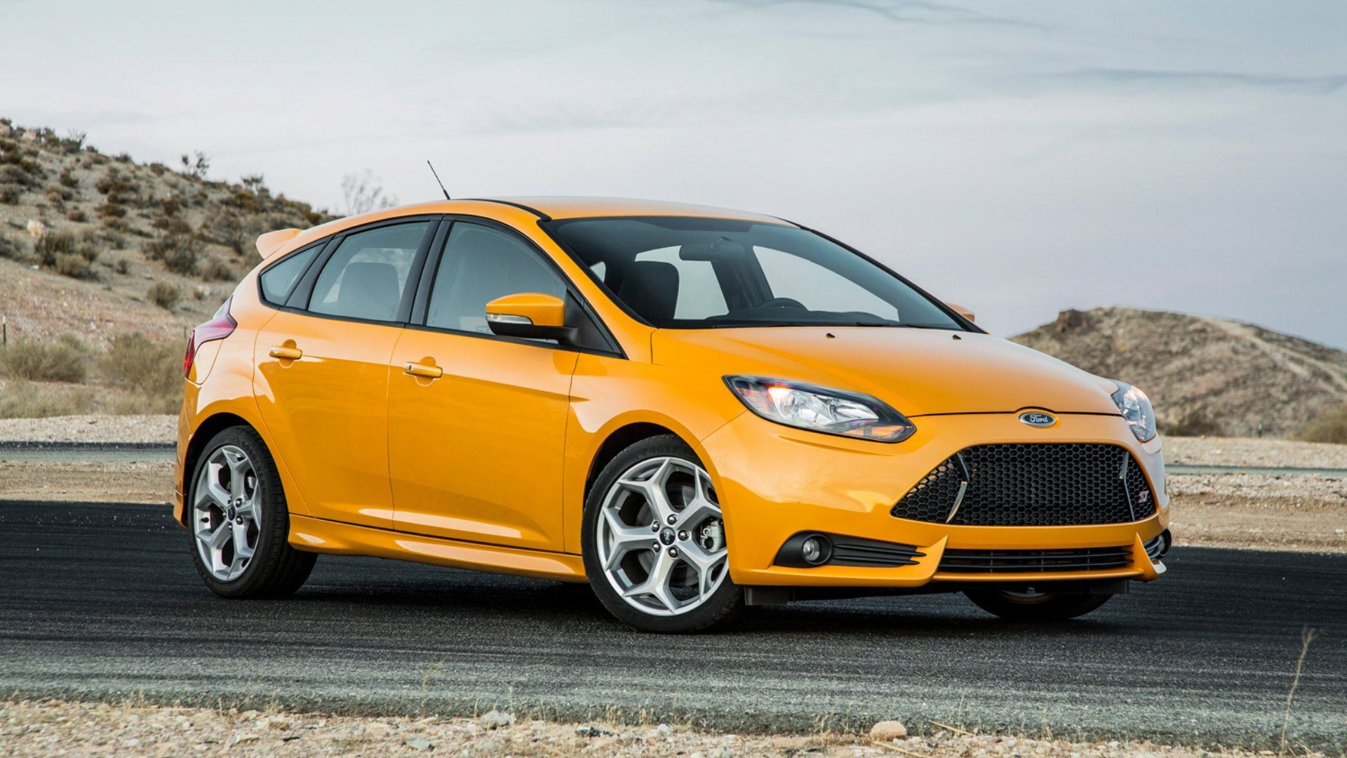 Image For 2013 Ford Focus St Yellow Hd Ford Cars 2012 Ford Focus