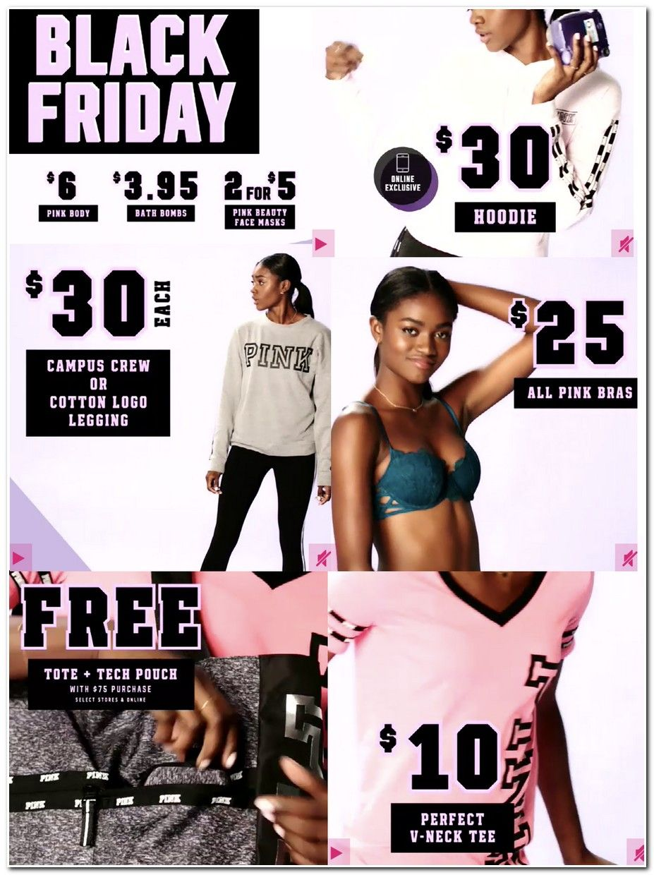 pink coupons for black friday