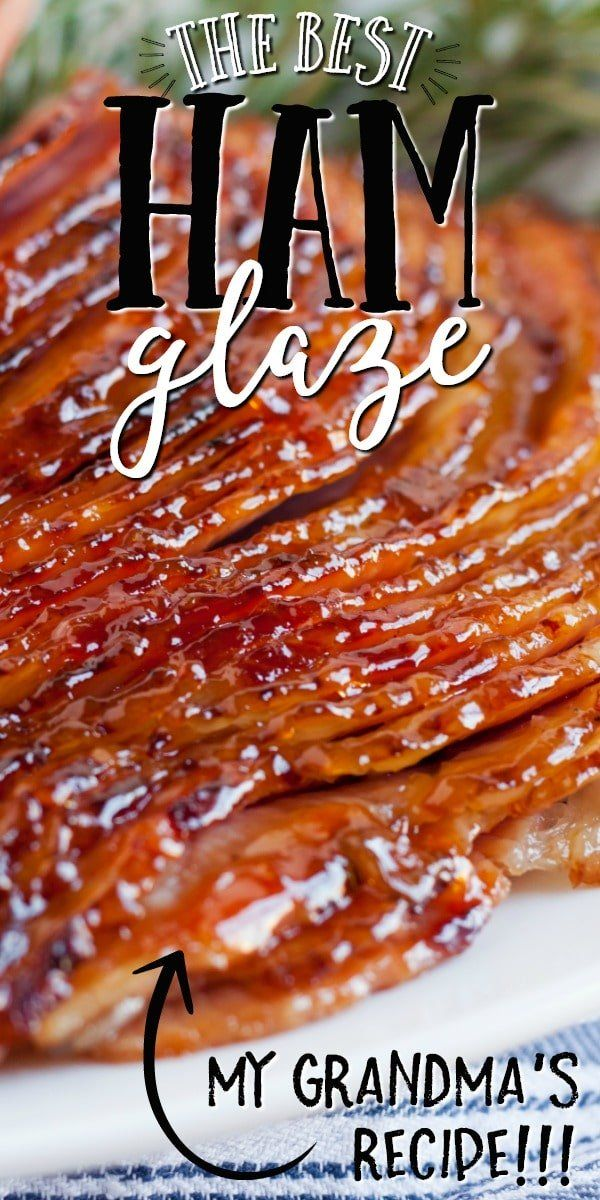 Sweet, delicious and so easy to make, this simple, homemade, five-ingredient ham glaze