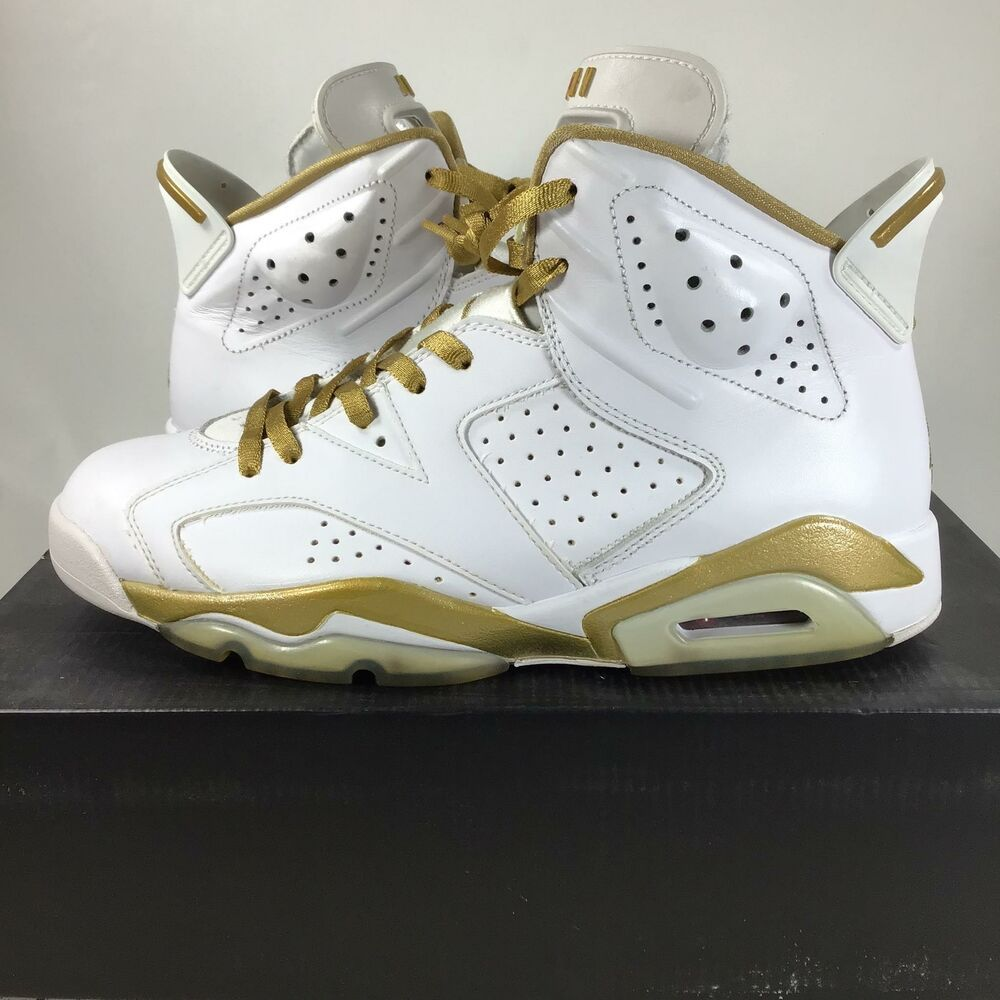 best website 80f07 411f7 Air Jordan 6 Golden Moments Pack (only 1 Pair) 384664135 Sz. 9, USED, L3