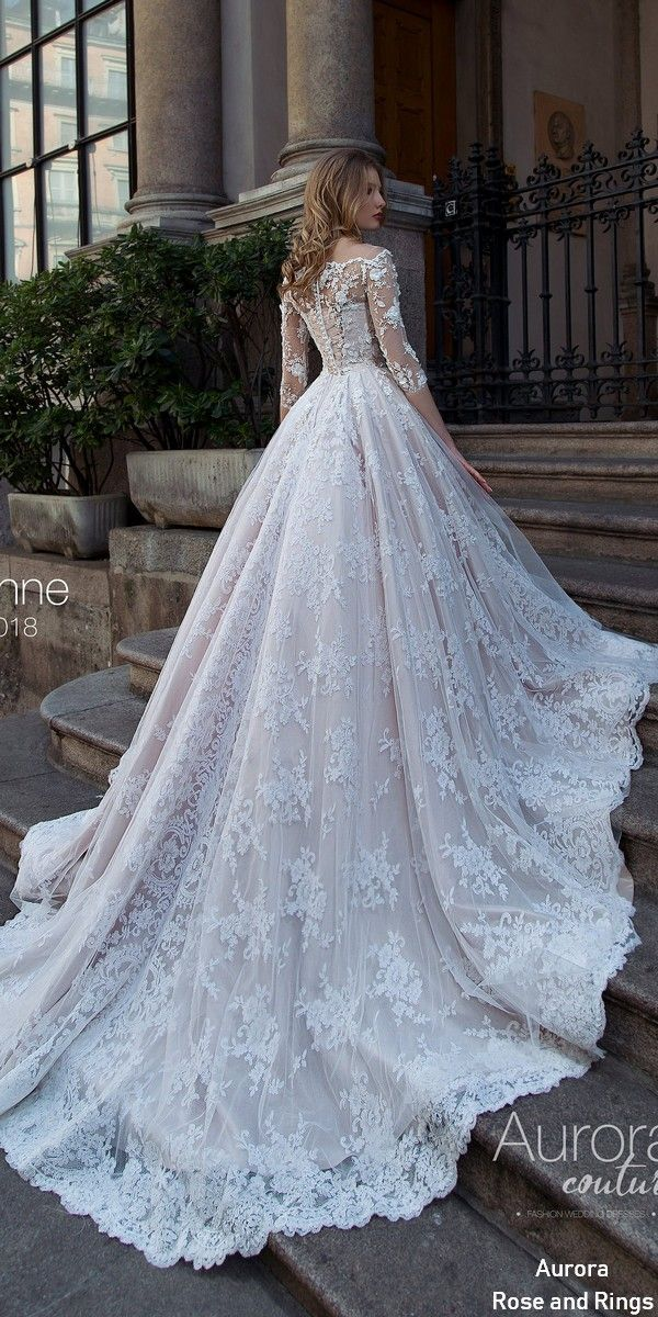 Traditional cinderella long sleeves lace wedding dresses LUSANNE | Roses & Rings | Weddings, Fashion, Lifestyle + DIY – ıvır zıvır