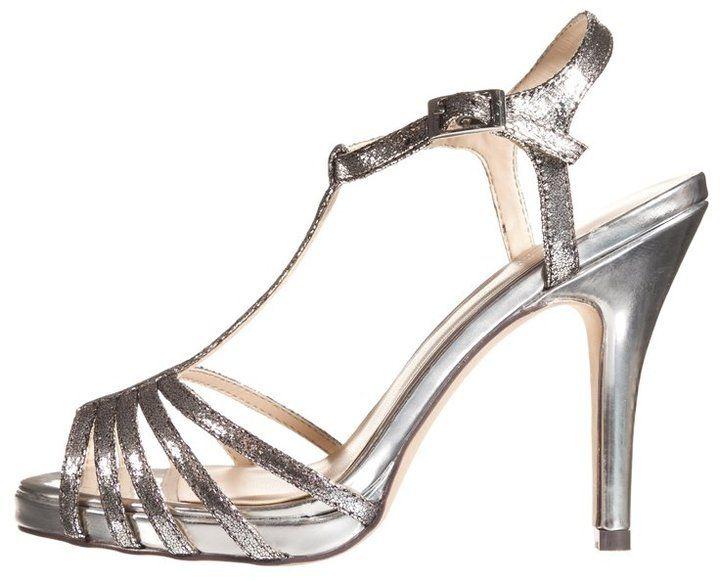 Paco Mena Platform sandals stone - ShopStyle