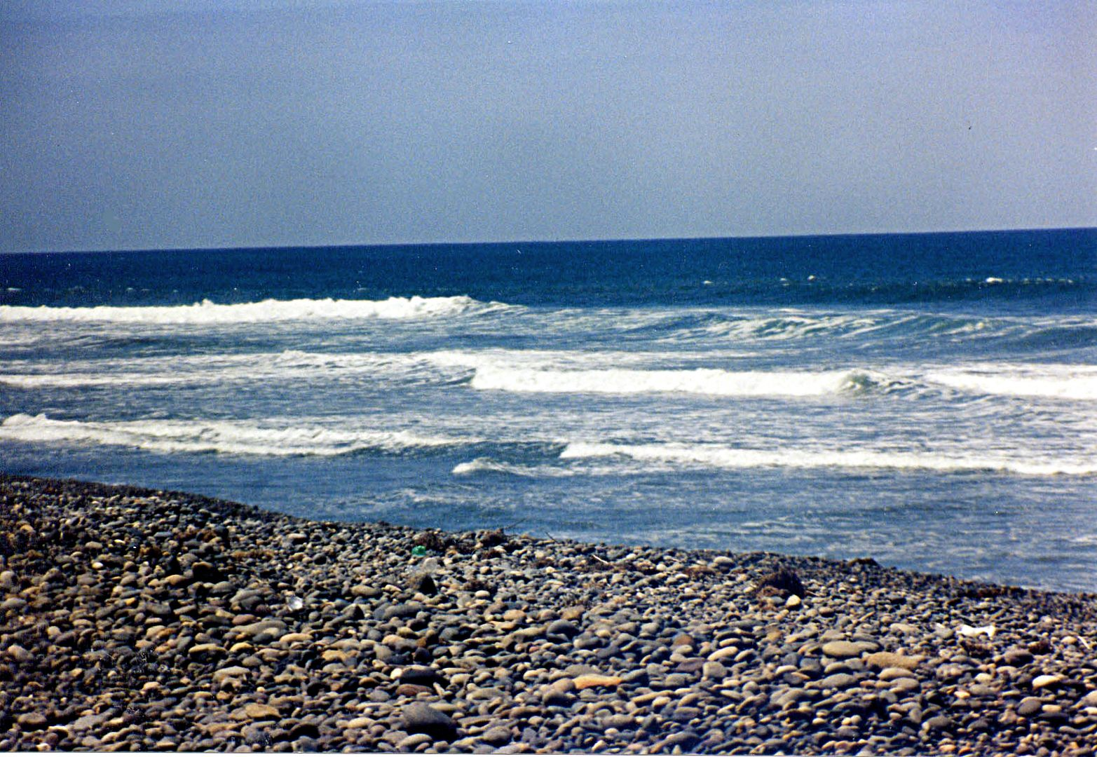 San Quintin Mexico One Location That We Harvest Mexican Beach Pebbles On The S