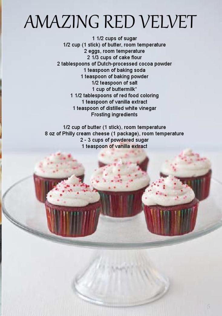 Cupcake magazine 1 stick of butter cake flour cocoa powder
