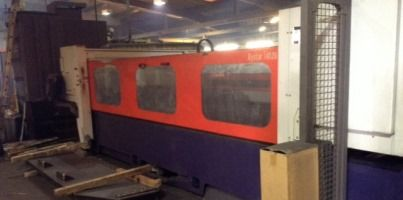 For sale - BYSTRONIC Laser Cutting Centre Requires repairs/replacements to cooling system and hence unused since 2012  To be removed by 31st January, 2015  Viewing by appointment only in Peterlee, Co. Durham  For further information please contact:  Richard Green T: 0191 269 0098 E: richard.green@gva.co.uk