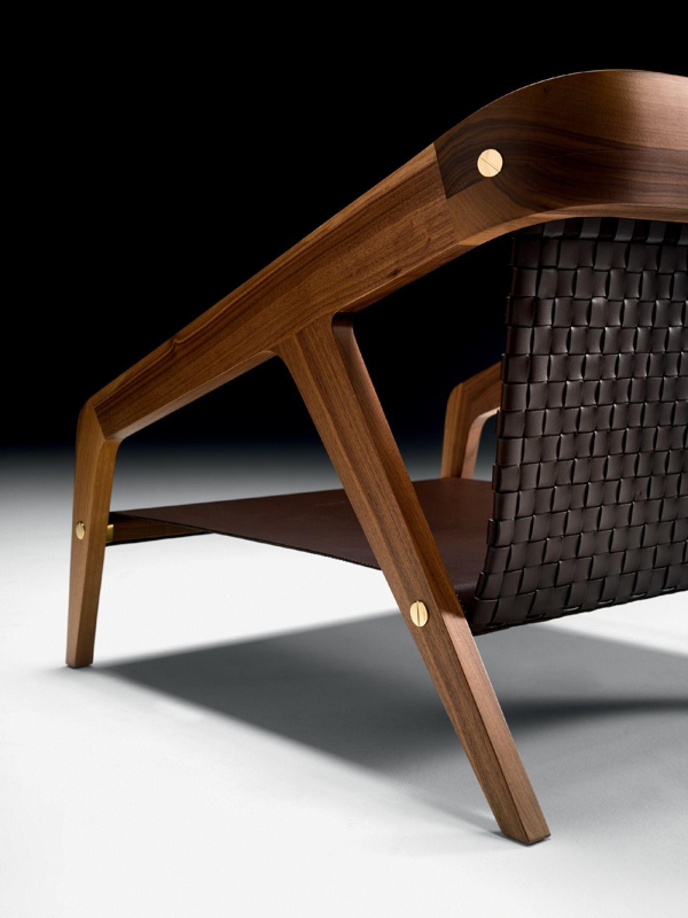 Black Tie Frisè Armchair, Furniture, Armchair design