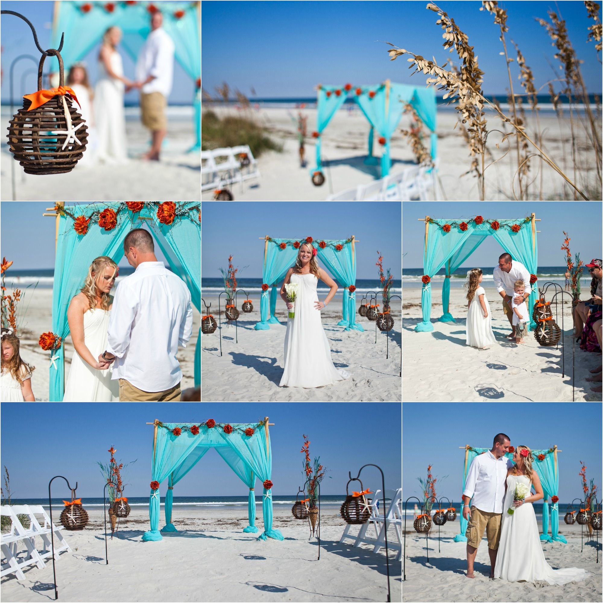 The Pinnacle Of Beach Wedding Decoration Bamboo Arbor Is Absolute Choice For Any Florida Or Georgia Package