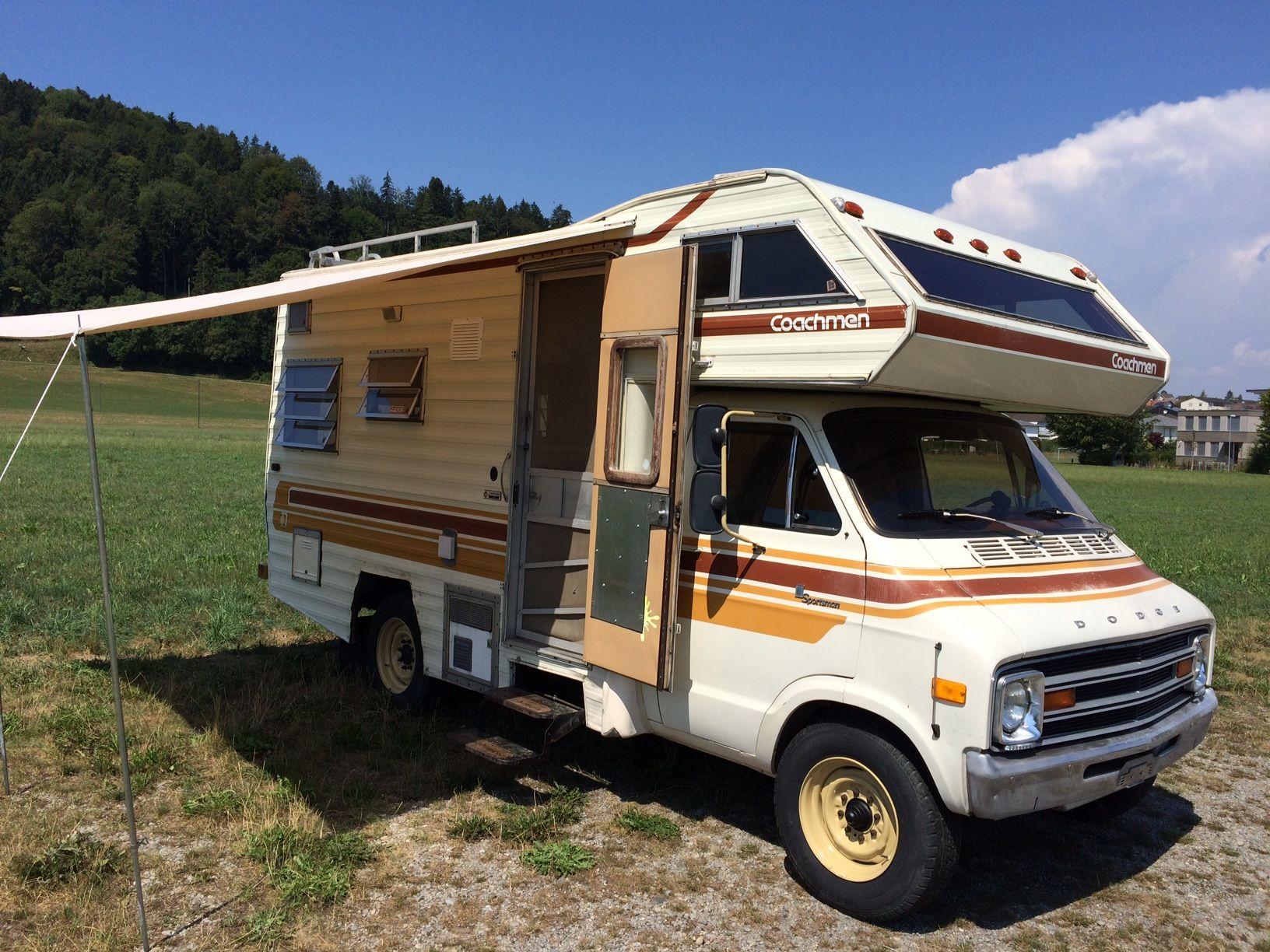 Dodge Coachmen 1978 5 9 L 360cui Originalzustand Vintage Camper Rv Trailers Suv Camper