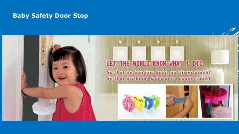 Babysafety door stop probebi what advantages of