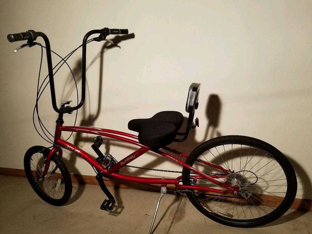 Sun Ray Sunray SX 21 Speed Easy Racer Recumbent Bike