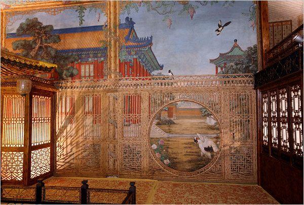 juanqin studio or juanqin zhai forbidden city zil most beautiful gardens art. Black Bedroom Furniture Sets. Home Design Ideas