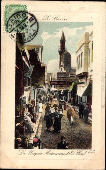 Postcard Cairo Ägypten, La Mosquée Mohammed El Word