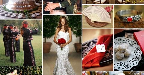 Mariachi Inspired Wedding Dresses