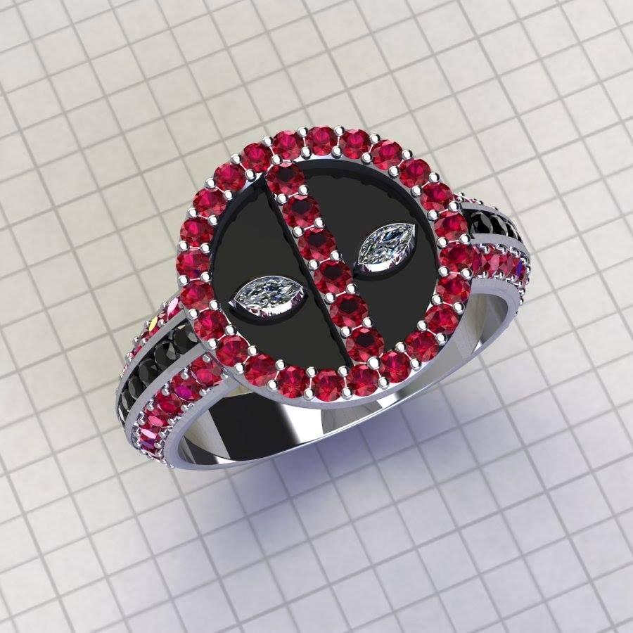 Paul Michael Design DeaDpool Ring