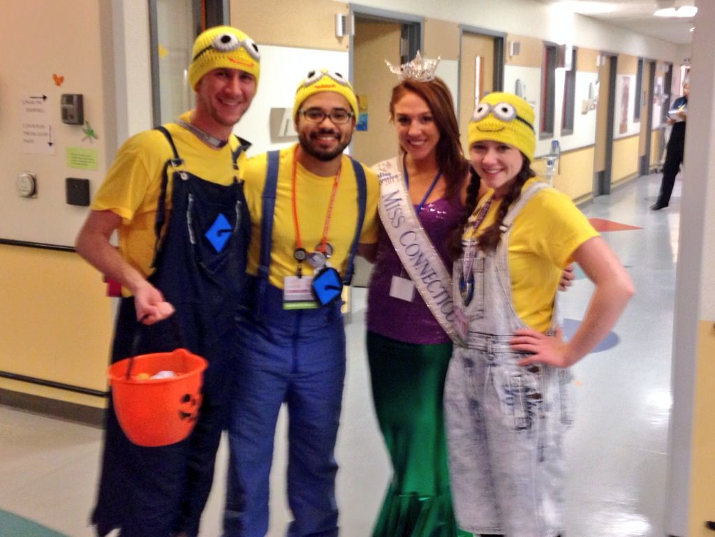 Kaitlyn visits CT Children's Medical Center in Hartford for Halloween's Reverse Trick ...
