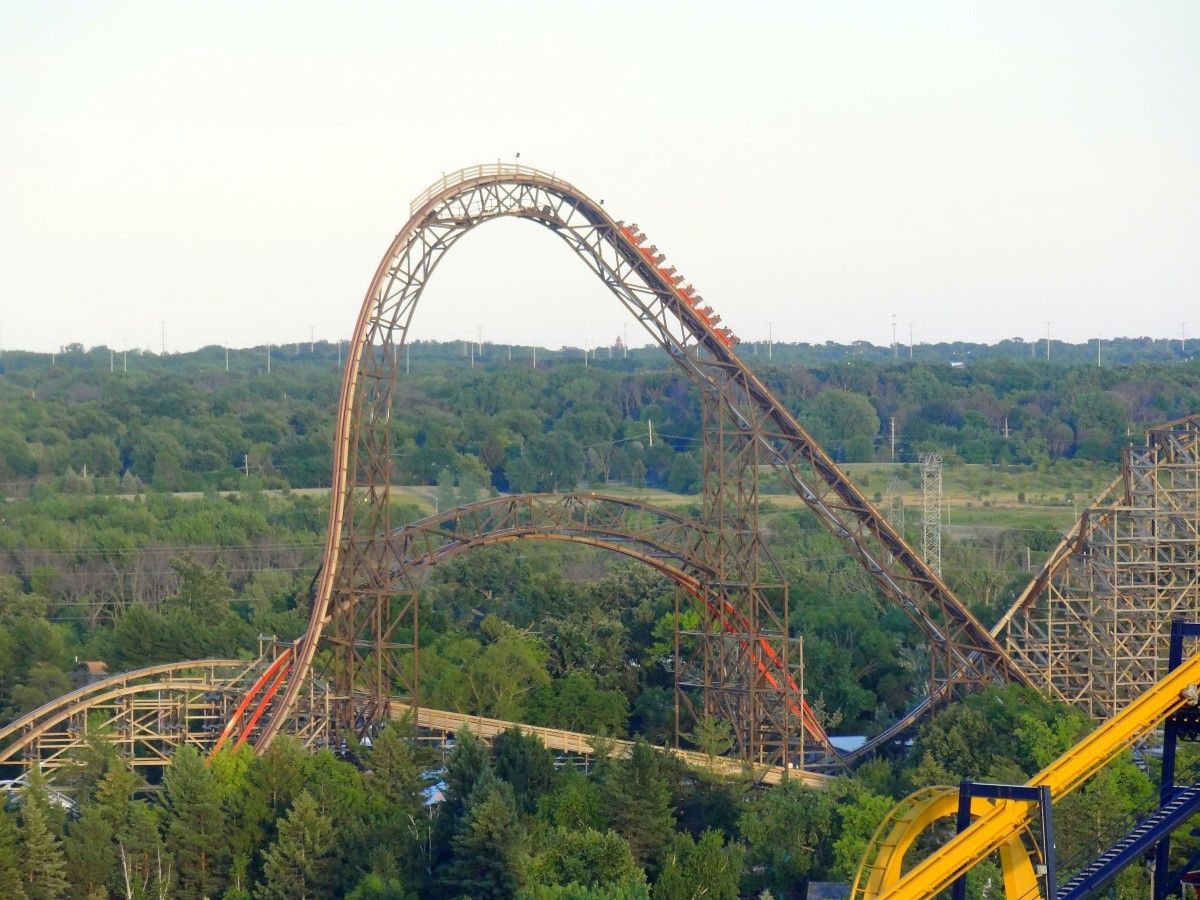 Trip Report Six Flags Great America July 2016 Coaster101 Great America Trip Six Flags