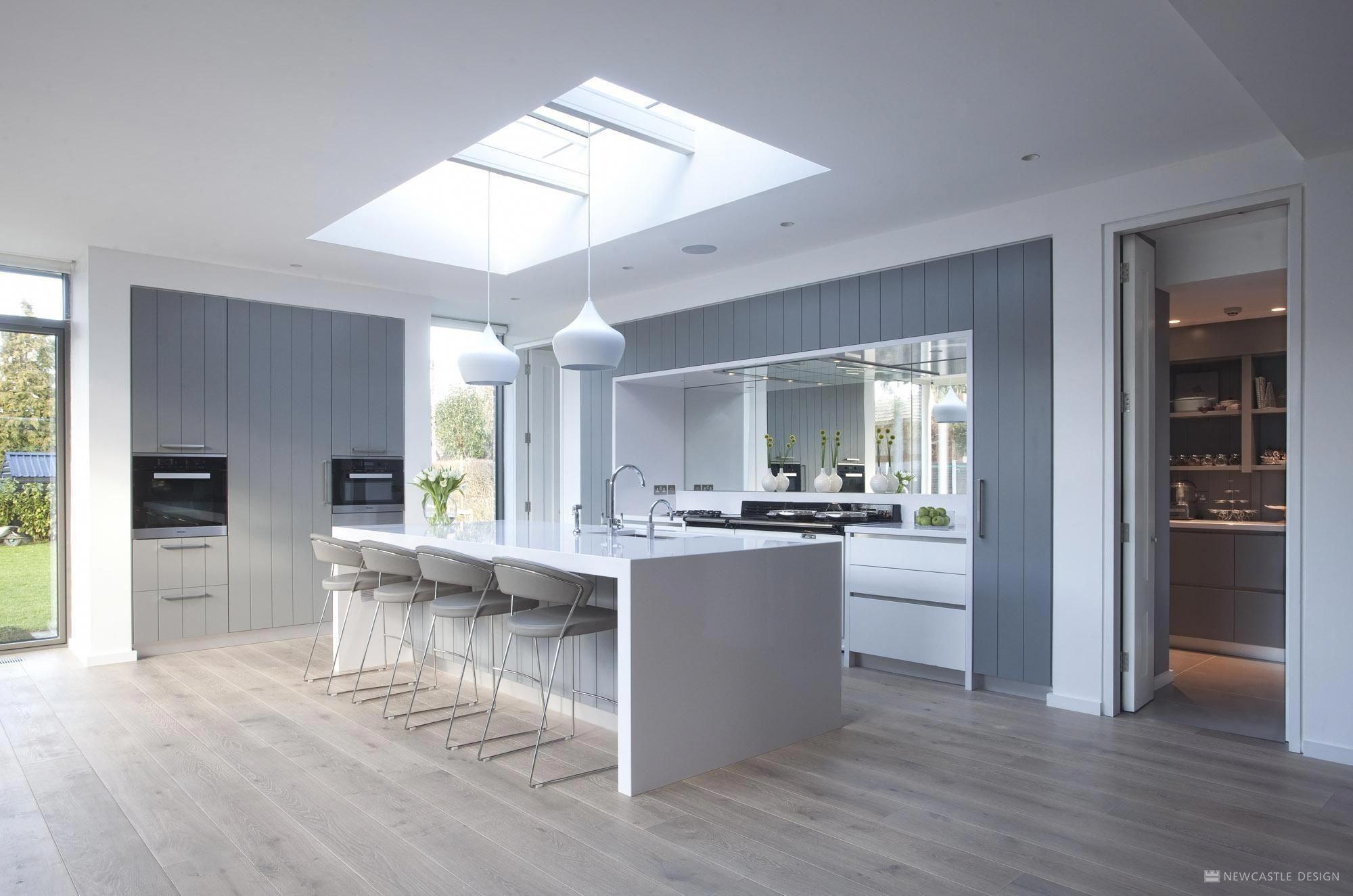 Minimalist Kitchen Urban Design Newcastle Design