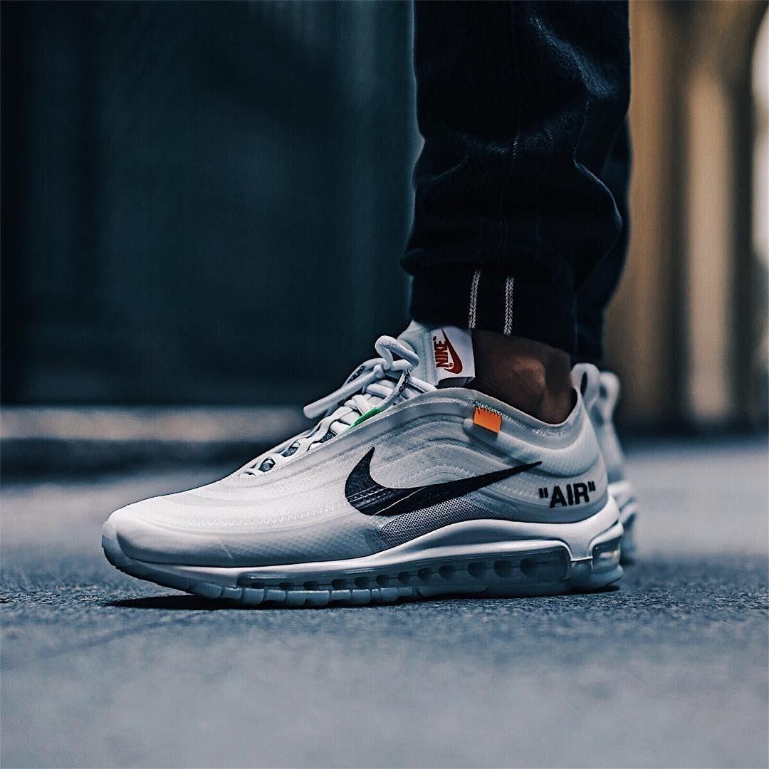 Off White X Nike Air Max 97 Tenis Sapato Estilos De Roupas Para Homens Sapatilhas