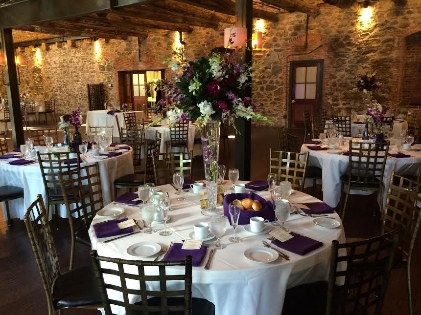 Pin By Inncredible Caterers Events On Brotherhood Winery Brotherhood Winery Wedding Receptions Table Settings