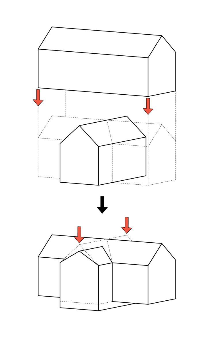 Rabbit Island Residency Museum - Concept Diagram